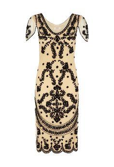 Next vintage style embellished dress