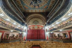 The magnificient Juarez Theater, Guanajuato, Mexico