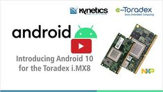 Toradex's on-demand #webinar archive brings forth a new video featuring our partner, #Kynetics, for all those who are interested in getting started with #Android10 on #NXP i.MX 8 & i.MX 8X applications processors and missed our webinar last week. Watch at your convenience. #iMX8 #iMX8X #NXPpartner #ToradexEasyInstaller #NicolaLaGloria #RobertoSartori #LeonardoVeiga #embeddedsystems #embeddedsoftware #androiddevelopment