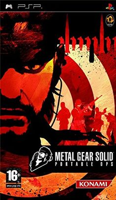 Metal Gear Solid Portable Ops PSP -- You can get additional details at the image link.