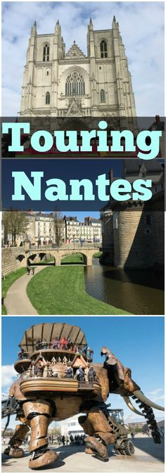 A day trip to beautiful Nantes!  Plus all about the new modern day paddle boat cruise ship that tours the Loire River in France!