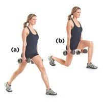 Phase One- Workout B: Dumbbell Split Squat Best Workout Plan, Butt Workout, Boxing Workout, Strength Training For Beginners, Womens Health Magazine, Fit Girl Motivation, Squat Motivation, Beauty