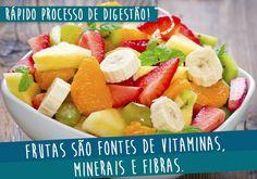 Frutas são sempre uma ótima pedida! Além pouco calóricas, são saborosas e cheias de benefícios, clique na imagem e veja!