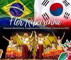 Flor Ribeirinha em um dos maiores festivais de folclore da Ásia