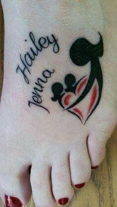Mom, daughter's tat