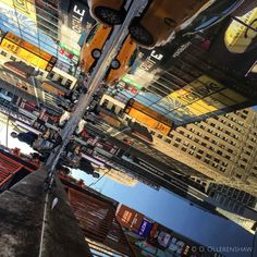 Stunning Street Reflection Photography Reflection Photography - Photographer captures the amazing reflections of puddles in new yorks streets