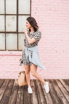 edde2c0c6c0 Gingham Madewell Dress, fashion blog, outfit ideas - /mystylevita/ Estilo De  Moda