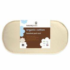 Amazon.com: Naturepedic Organic Cotton Bassinet Oval Pad: Baby $69