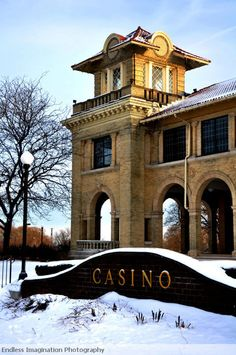 Casino on Belle Isle in Detroit, MI, by Endless Imagination Photography