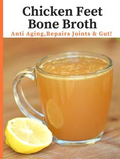 Chicken Feet Bone Broth Recipe Ever since Janice Peyton, a health coach based in San Diego, told me about making bone broth with Chicken Feet, I tried it and have been hooked ever since… Chicken feet have an incredible amount of collagen and gelatin in them!  I do love the beef bone broth also, but...