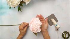 Bomb Peony Paper Flower Tutorial