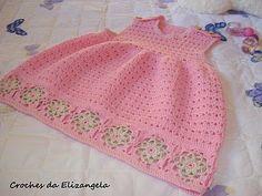 Crochês da Elizangela e Cia.: Vestidos