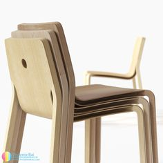 LAYER chair by Phoenix Bai
