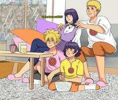 Hinata, Naruhina, Naruto, Familia Uzumaki, Family Guy, Guys, Fictional Characters, Drawings, Boys