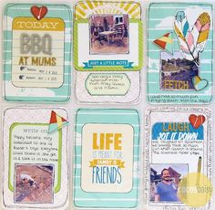 Project Life - June Kit, by Funky Fairy www.cocoadaisy.com www.scrappyfairies.blogpsot.co.uk