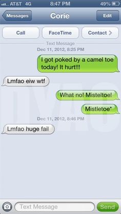 The Web Babbler: Funny Texts #36