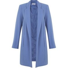 Miss Selfridge Blue Duster Coat