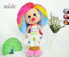 Clown Mädchen häkeln