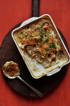 Potato and Caramelized Onion Gratin - The Candid Appetite
