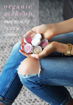 We love RMS beauty! These all-natural, organic and raw beauty products are beauty-bag must haves!