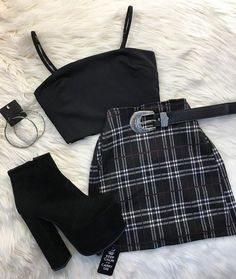 Outfit November 07 2019 at fashion-inspo Cute Comfy Outfits, Edgy Outfits, Retro Outfits, Grunge Outfits, Grunge Clothes, Hipster Outfits, Swag Outfits, Girls Fashion Clothes, Teen Fashion Outfits
