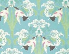 Tanya Whelan Chloe Birds Sky Fabric - Tanya Whelan - Fabric by Designer - Fabric