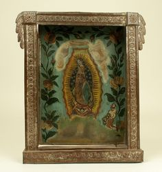 Our Lady of Guadalupe Retablo | Colonial Arts