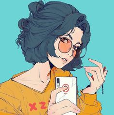 """""""I want everyone to meet you. You're my favorite person of all time."""" The best romance novels to read right now on Flying Lines ❤❤❤❤ Cute Art Styles, Cartoon Art Styles, Anime Art Girl, Manga Art, Aesthetic Art, Aesthetic Anime, Arte Copic, Posca Art, Digital Art Girl"""