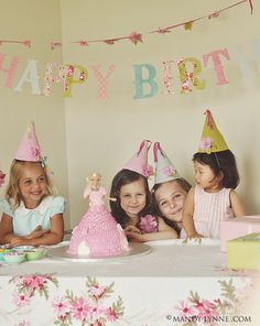 Love the old school hats and doll cake.