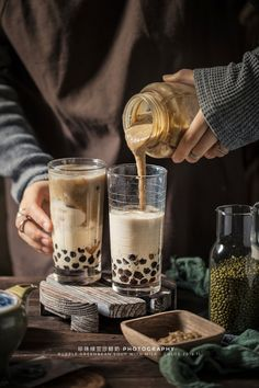 Milk Photography, Morning Mood, Coffee Photos, Low Key, Hot Chocolate, Green Beans, Latte, Bubbles, Food And Drink