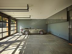 19 Reasons Your Garage Is The Coolest Room In Your House| You can use it to show your neighbors how much cooler than them you are. Want to show off? Check out the Avante Collection glass garage doors at www.clopaydoor.com.
