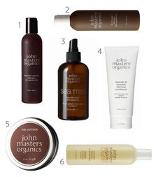 John Masters Organics-Always go back to this line.Love the Lavender/Avocado Conditioner and the lavender/rosemary shampoo.It doesn't lather much,takes some getting used to.