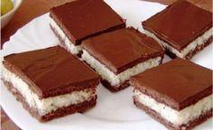 Kakaovo-kokosové rezy. Celá moja rodina ich miluje a neustále ma prosí o ich prípravu! - Báječná vareška