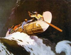 Arthur Heming pays tribute to the superior skill of native canoeists who made possible the development of Canada.
