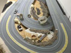Baubericht – FREAKPALACE Slot Cars, Slot Car Racing, Slot Car Tracks, Courses, Deserts, Circuit, Layout, Trucks, Dreams