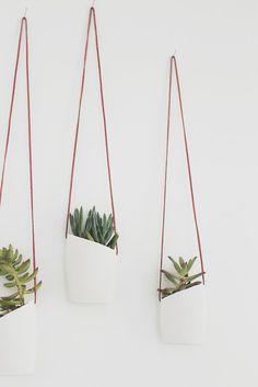 Art & Mañas » DIY: Cómo hacer unos pequeños tiestos colgantes