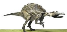 Спинозавр по схеме Сатоши Камия (Satoshi Kamiya)