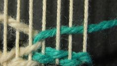Interlock-Step-tapestry weaving. something new to learn                                                                                                                                                     More
