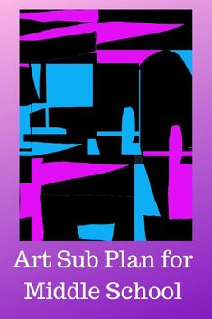 easy art projects for middle schoolers Art Education Lessons, Art Lessons For Kids, Art Sub Plans, Art Lesson Plans, Name Design Art, Easy Art Projects, Project Ideas, Middle Schoolers, Art School