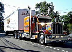 Multicolor truck..