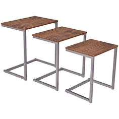 Giantex 3PC Stacking Nesting Coffee End Table Set Living Room Modern Home Furniture - http://droppedprices.com/living-room/giantex-3pc-stacking-nesting-coffee-end-table-set-living-room-modern-home-furniture-2/