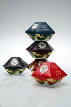 Berry Tok unusual student #packaging project for dressing PD