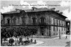Patrimonio Arquitectónico de Asturias: QUE FUE DE LA PUERTA LATERAL DEL PALACIO DE LOS MA...