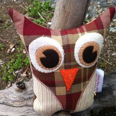 Sometimes I want to keep things I make even though I know I shouldn't.  I just really love this #owl...
