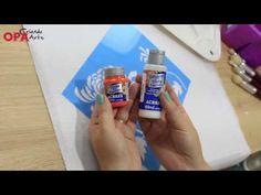 Dica da Mayumi: Utilização de Stencil Tecido - YouTube