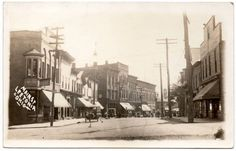 Real Photo Postcard Main Street in Leetonia, Ohio~106861