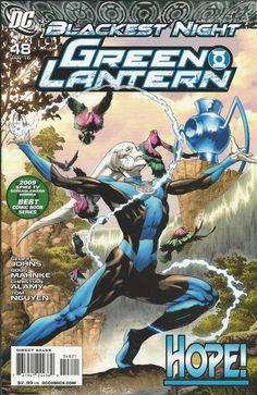 DC Green Lantern Blackest Night comic issue 48 Limited variant