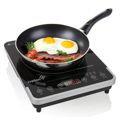 Ivation 1800watt Portable Induction Cooktop