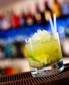 Rock the Cachaca in the One and Only Caipirinha