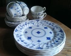 Myott Finlandia fine Staffordshire tea and dinner wares: various items available by LittlePuffinStudio on Etsy